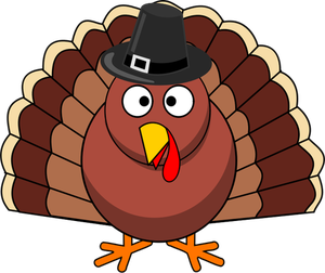 1245 funny thanksgiving turkey clipart.