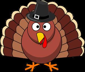 1245 funny thanksgiving turkey clipart.