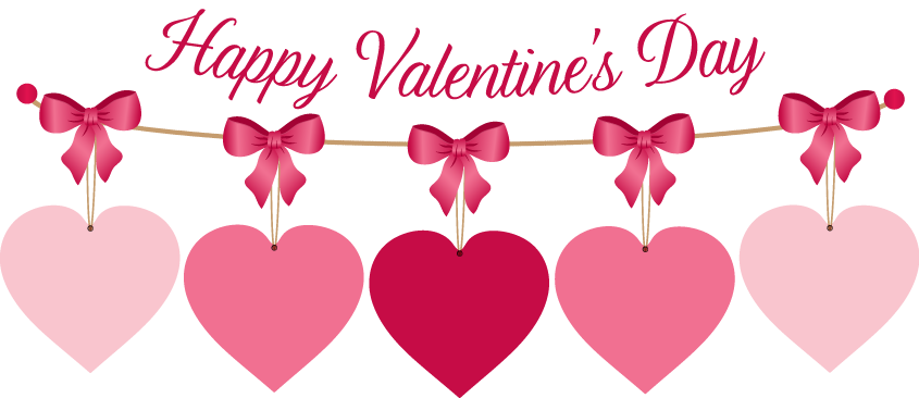 Happy Valentine Clip Art.