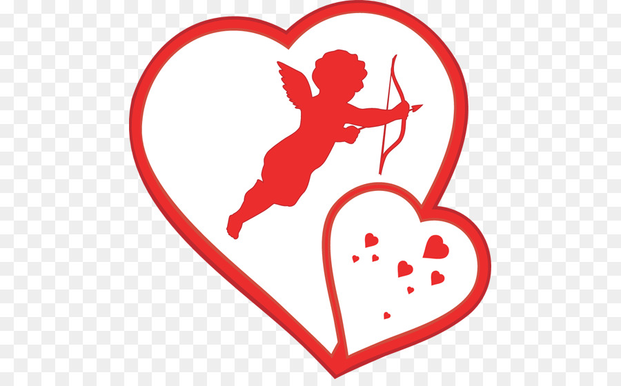 Cupid Valentines Day Heart Clip art.