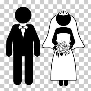 3 funny Bride PNG cliparts for free download.
