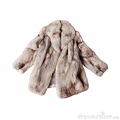 Fur coat clipart.