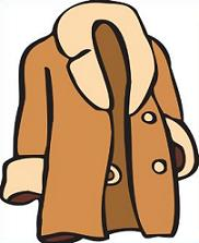 Free Fur Coat Clipart.