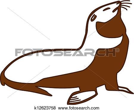 Fur seal Clip Art Illustrations. 1,228 fur seal clipart EPS vector.