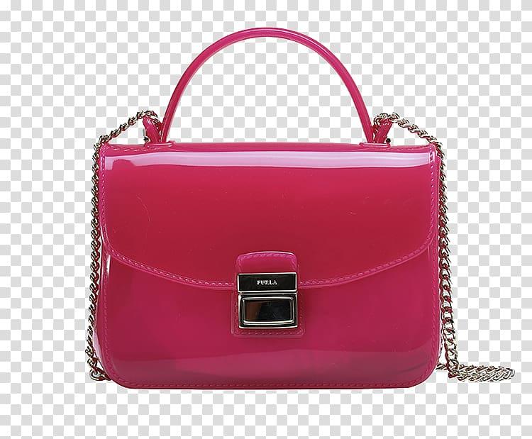 Handbag MINI Cooper Polyvinyl chloride Leather, FURLA / Ms.