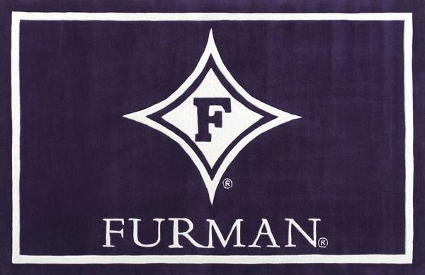 Furman University Football Area Rug.