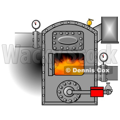Furnace Clipart by Dennis Cox.