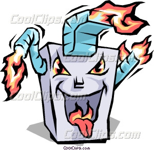 Gas Furnace Clipart.