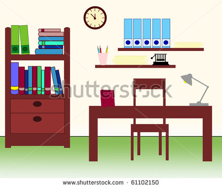 Study Room Clipart.