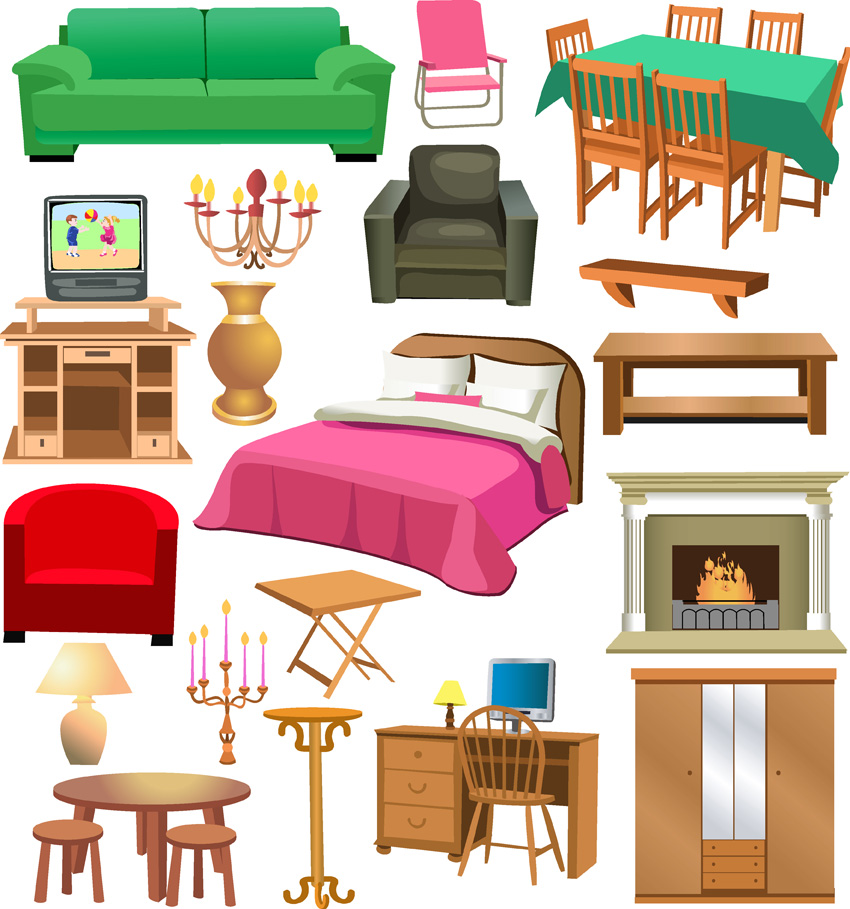 Furnishing clipart.