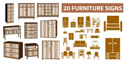 Furniture Clip Art For Floor Plans Free.