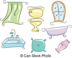 Home furnishings Clipart and Stock Illustrations. 1,900 Home.