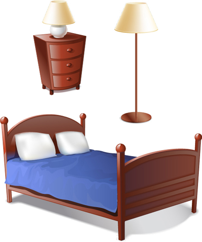 Free furniture clipart images.