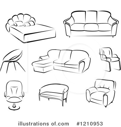 Furniture Clipart #1210953.