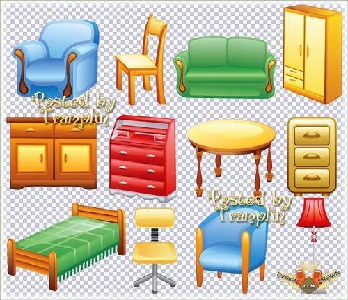 Clipart furniture.