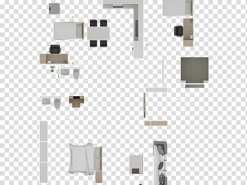 Furniture House Floor plan Interior Design Services, psd.