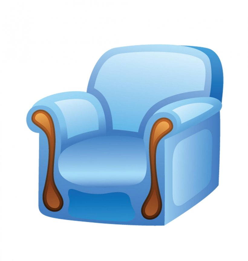 Chair Furniture Clip Art, PNG, 995x1048px, Chair, Blue.