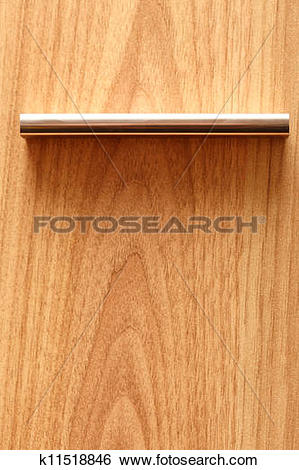 Stock Images of Wood texture for background Furniture handle.