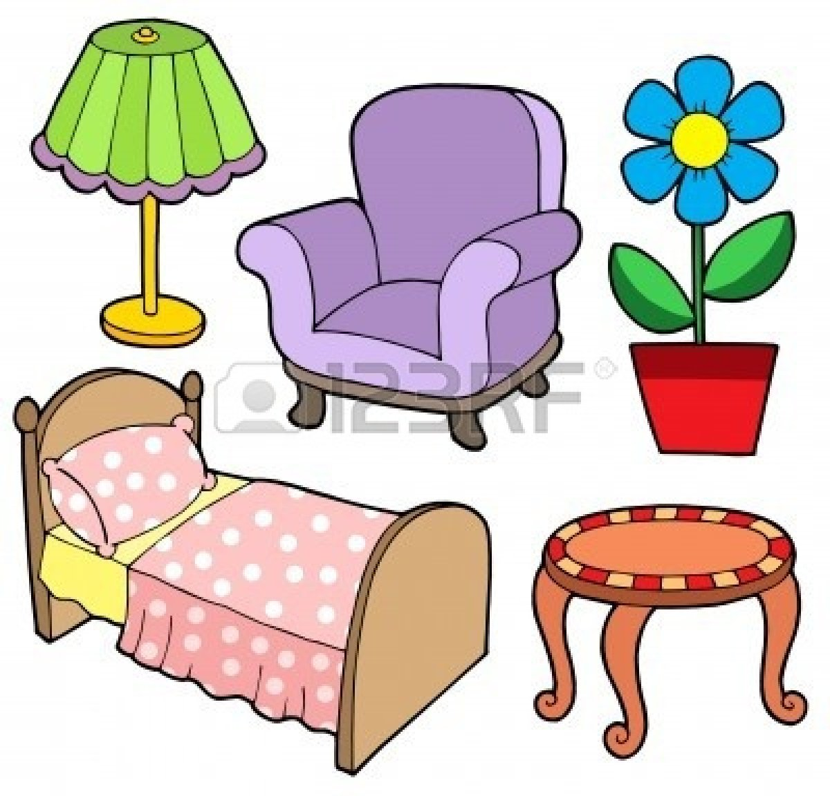 Furniture clipart 5 » Clipart Station.