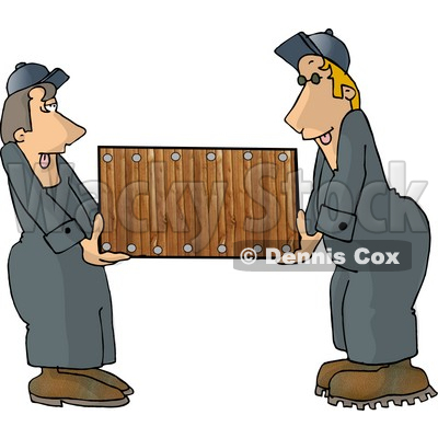 Moving Furniture Clipart.