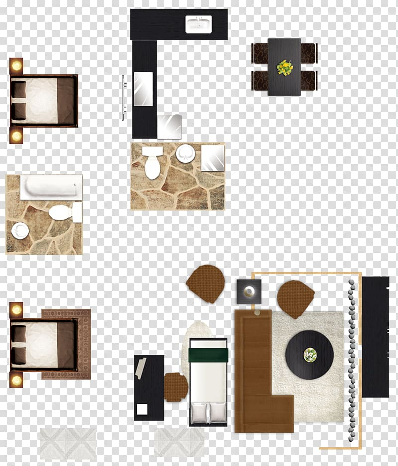 Furniture Floor plan House painter and decorator Interior.