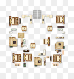 Top View Furniture PNG.