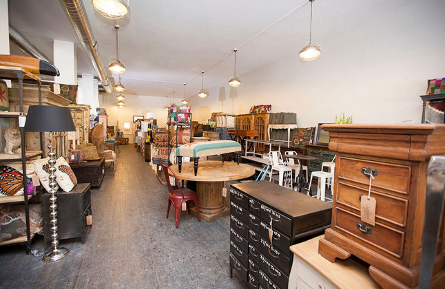 Wrigleyville Furniture Store.