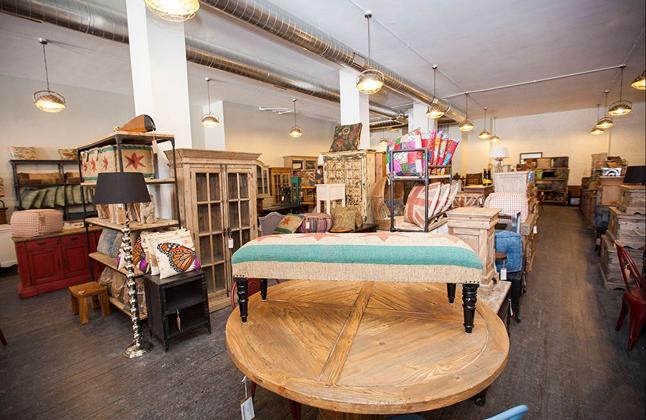 Wicker Park Furniture Store.