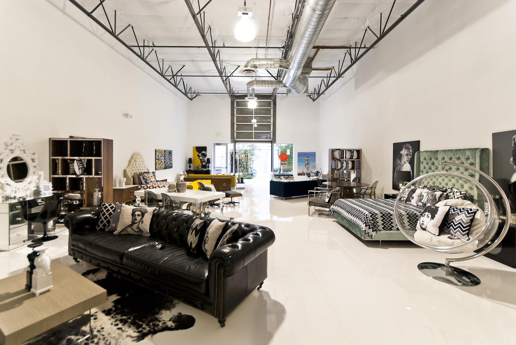 Modern Furniture Store in Orange County, CA.