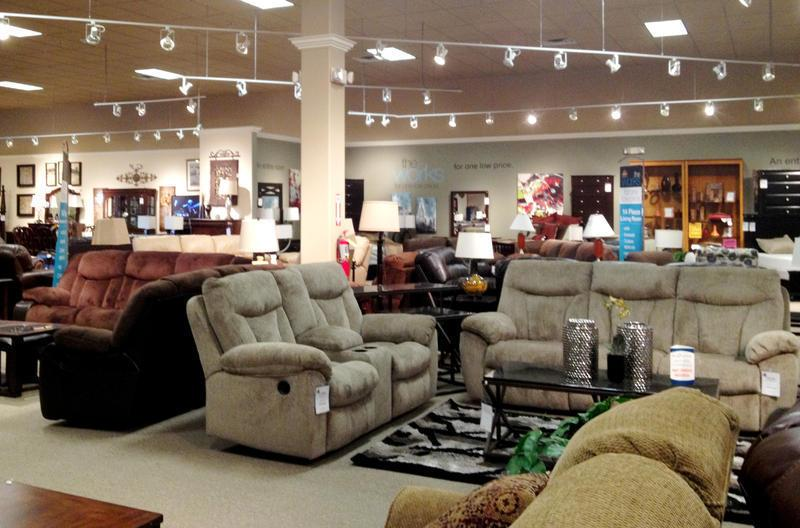Best Furniture Store: Ashley's Furniture HomeStore.