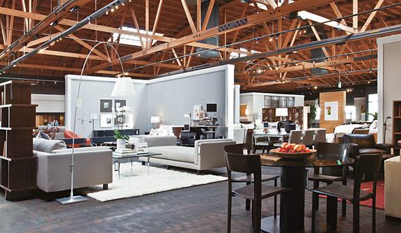 Culver City Modern Furniture Store.