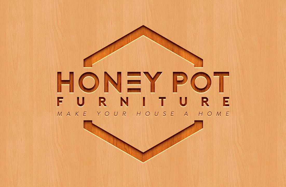 Professional, Bold, Furniture Store Logo Design for \'Honey.