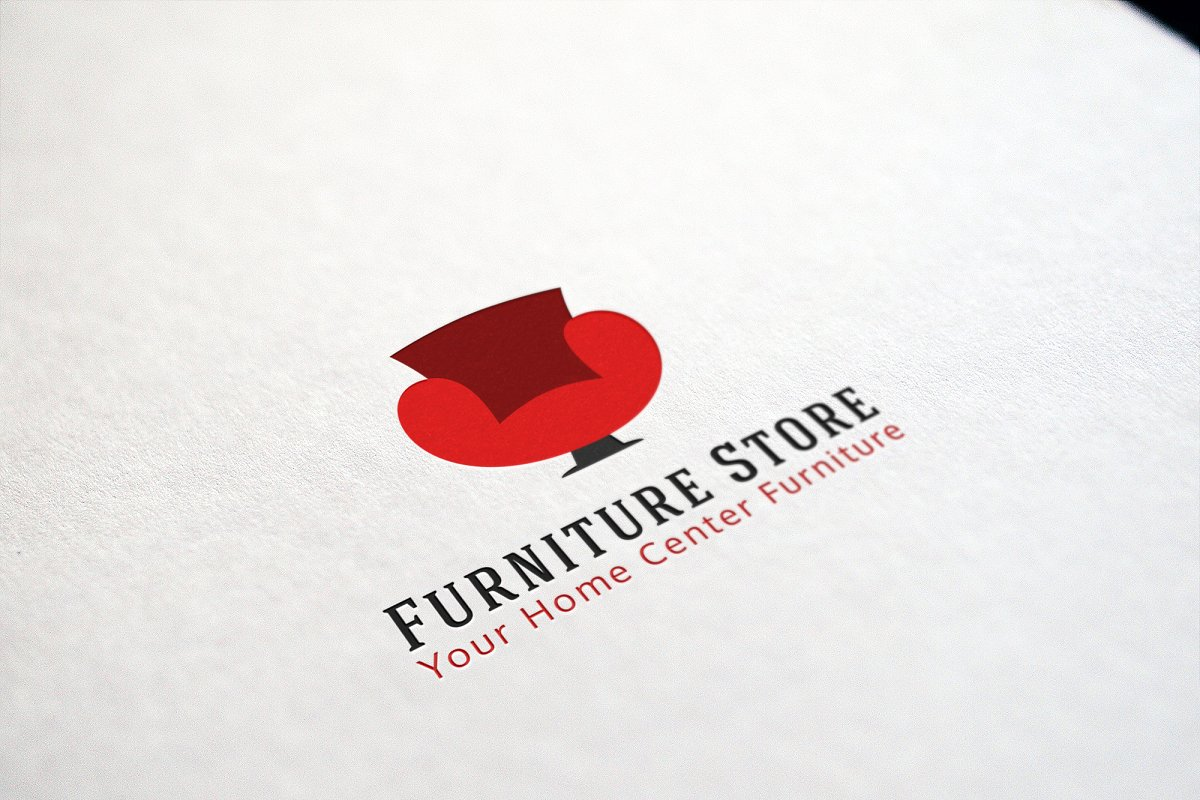 Furniture Logo Templates ~ Logo Templates ~ Creative Market.