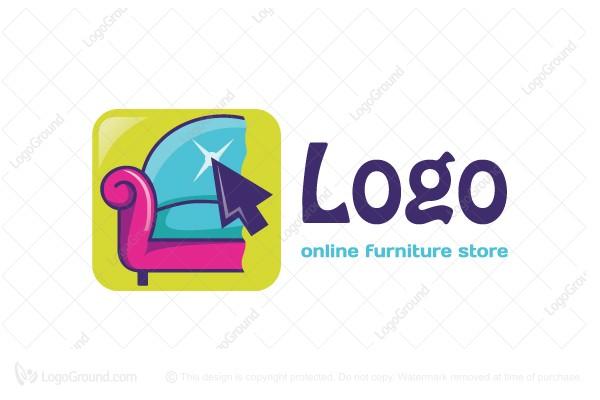 Exclusive Logo 31077, Sofa Online Furniture Store Logo.