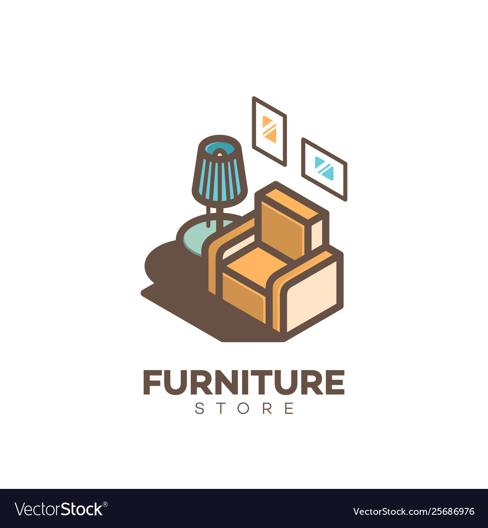 Furniture store logo.