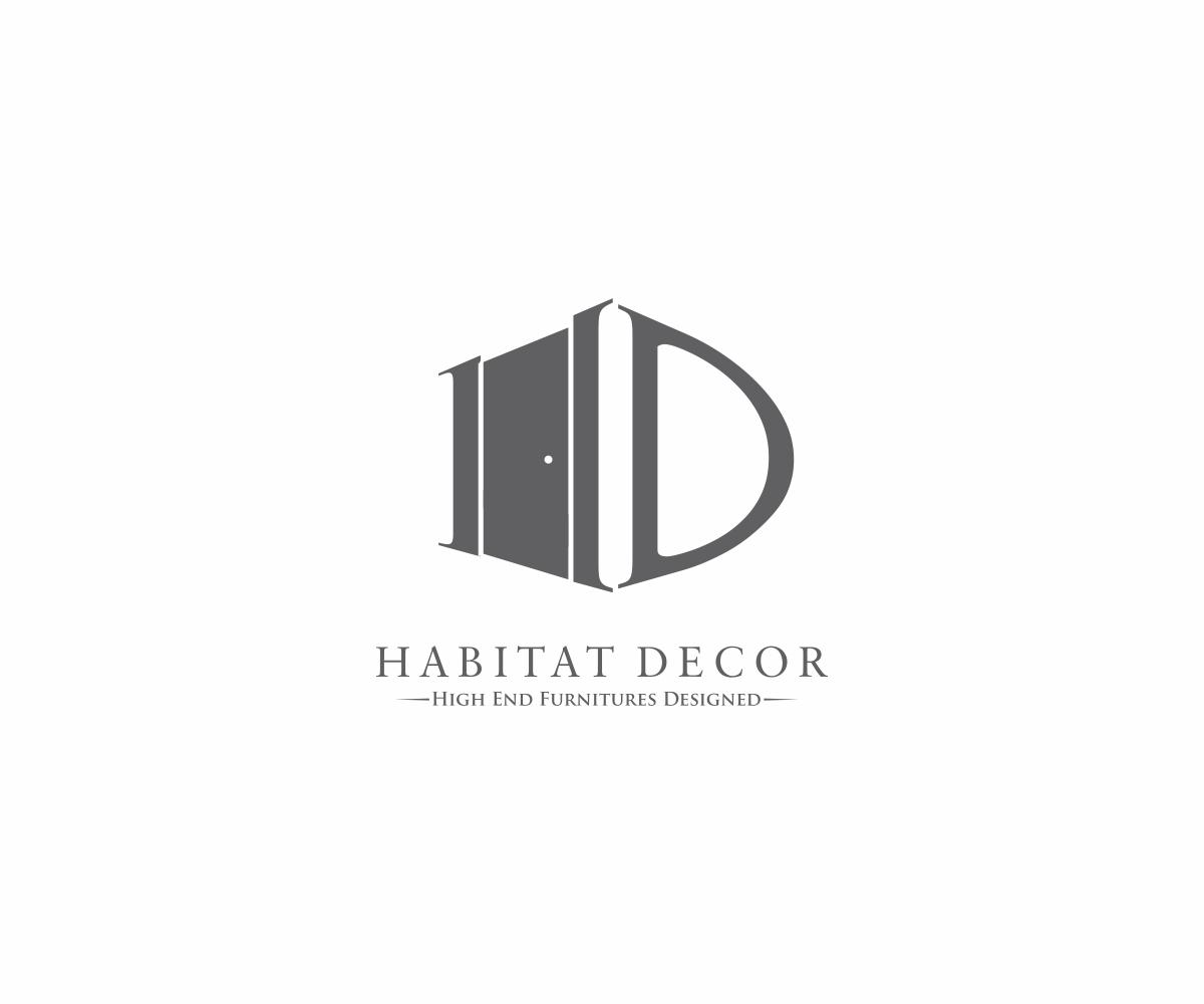Upmarket, Serious, Furniture Store Logo Design for Habitat.