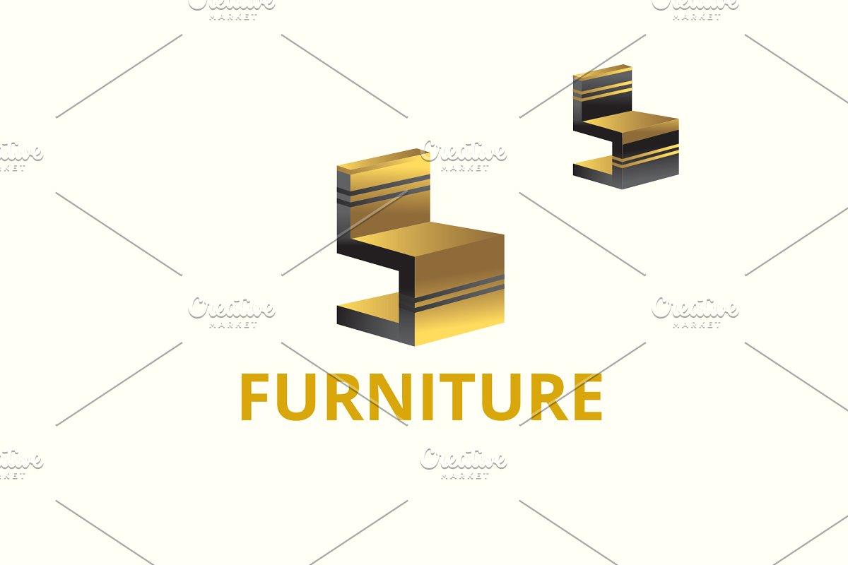 Furniture Logo ~ Logo Templates ~ Creative Market.