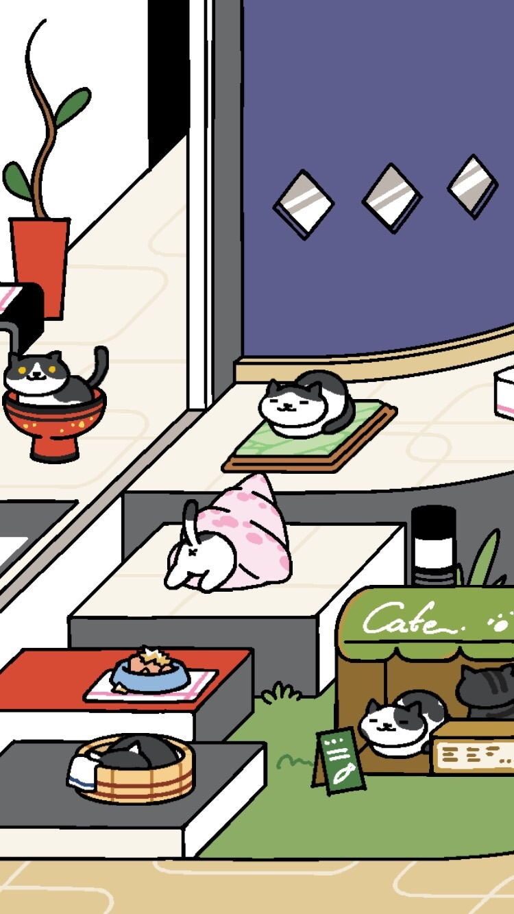 Looks like all the black and white furred kitties got invited to.