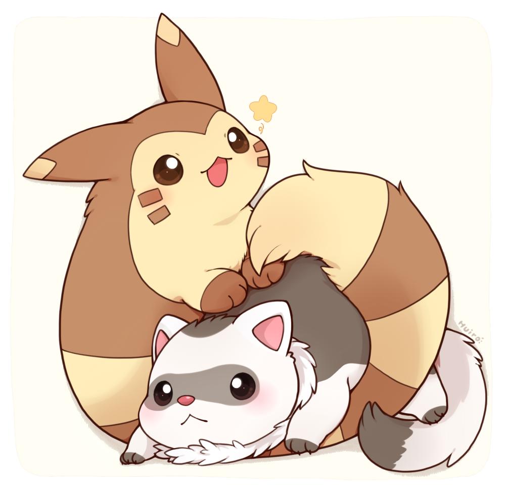 Furret and Ferret.