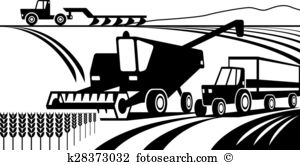 Furrow ploughs Clipart and Illustration. 2 furrow ploughs clip art.