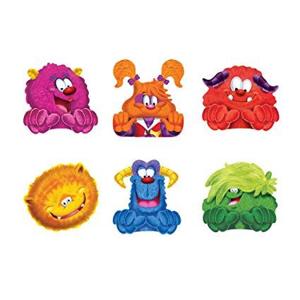 TREND enterprises, Inc. Furry Friends Mini Accents Variety Pack, 36 ct.