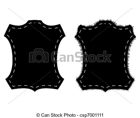 Vector Clip Art of Fur and leather csp7001111.