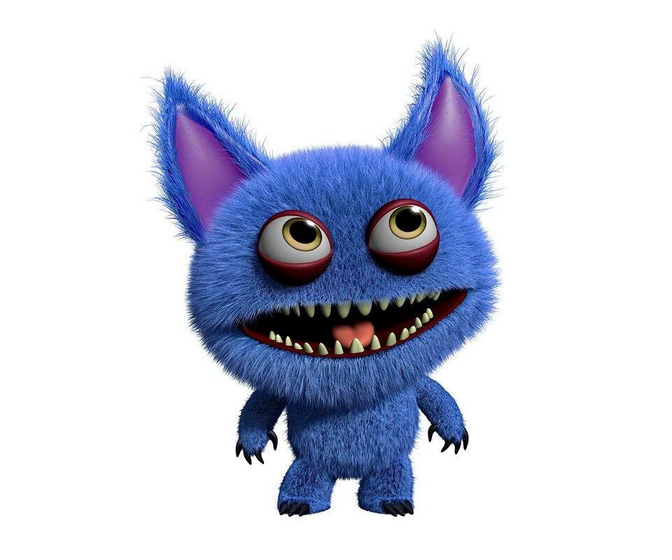 Fuzzy monster in 2019.