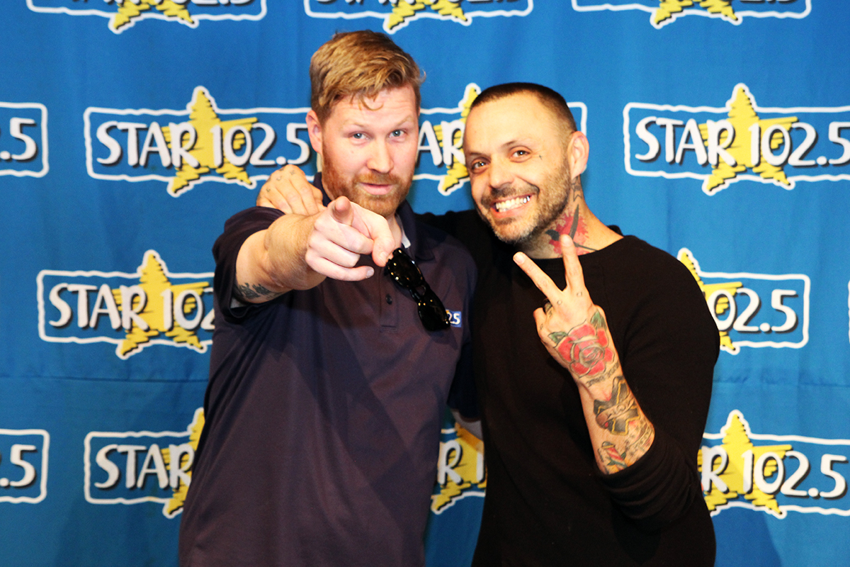 Acoustic Lounge with Justin Furstenfeld of Blue October.