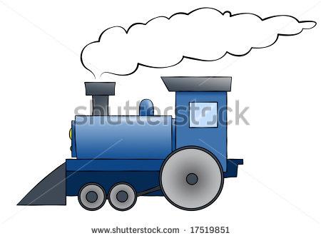 Train smoke clipart.
