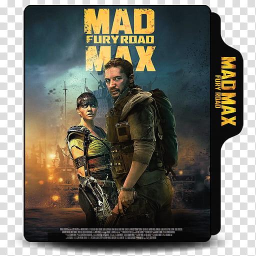 Mad Max Fury Road , Mad Max folder icon transparent.