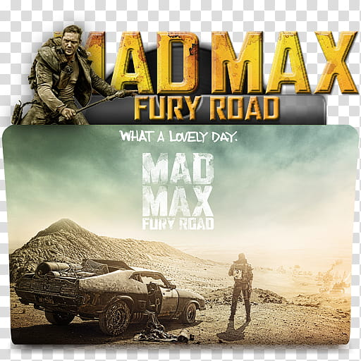 Movies Folders , Mad Max. Fury Road icon transparent.