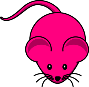 Fuschia Mouse Graphic Clip Art at Clker.com.