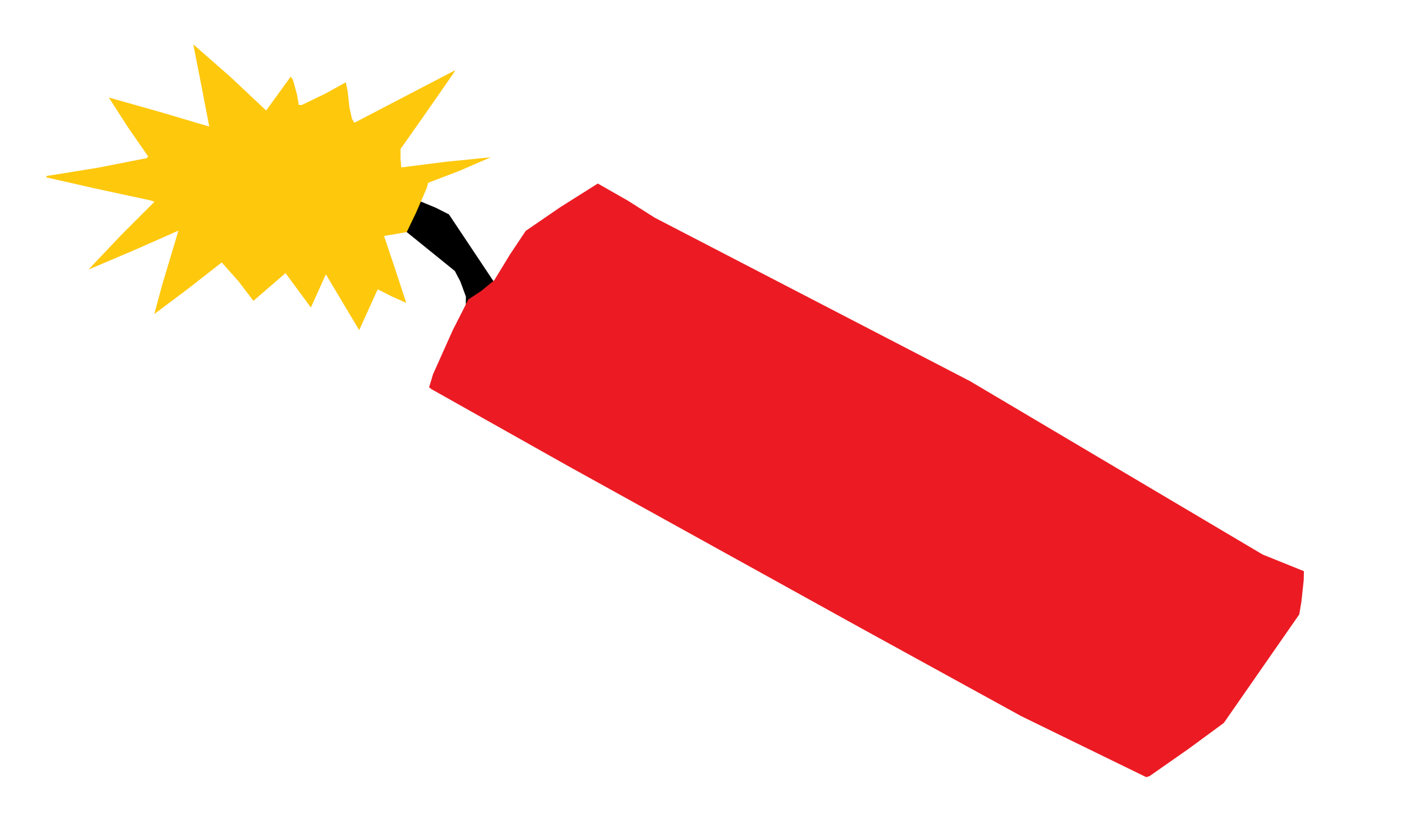 TNT with short fuse vector clipart.