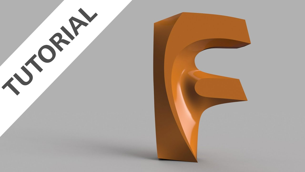 How to Sculpt the New Fusion 360 Logo.